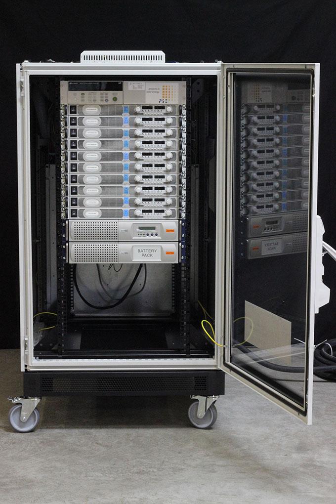 Test Equipment Racks : Power supply rack